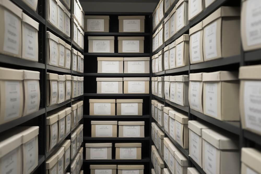 Firmen-Archiv bei Hurtibox in Dättwil