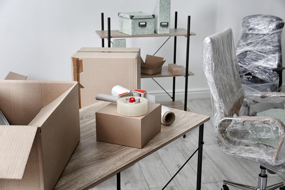 Optimale Lagerbedingungen - Verpackungsmaterial